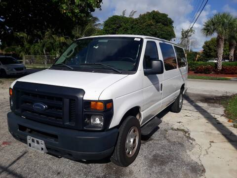 2008 Ford E-Series Wagon for sale at LAND & SEA BROKERS INC in Deerfield FL
