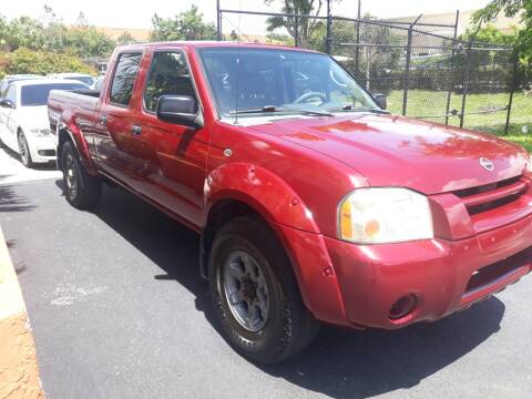 2004 Nissan Frontier for sale at LAND & SEA BROKERS INC in Deerfield FL