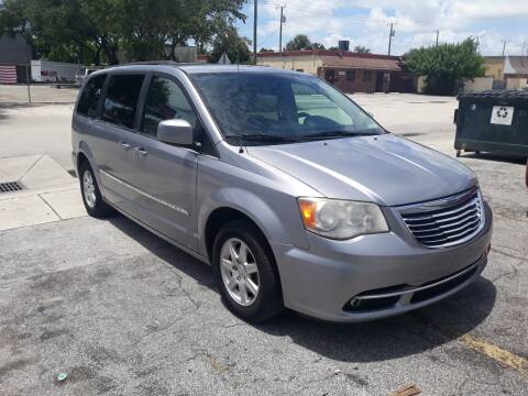 2013 Chrysler Town and Country for sale at LAND & SEA BROKERS INC in Deerfield FL
