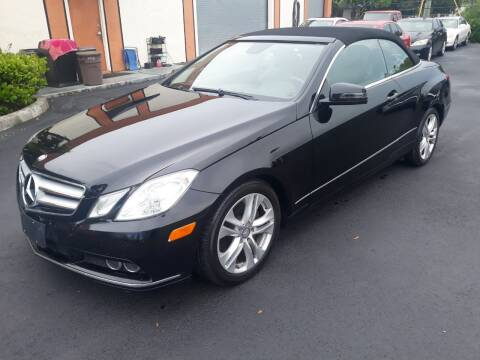 2011 Mercedes-Benz E-Class for sale at LAND & SEA BROKERS INC in Deerfield FL