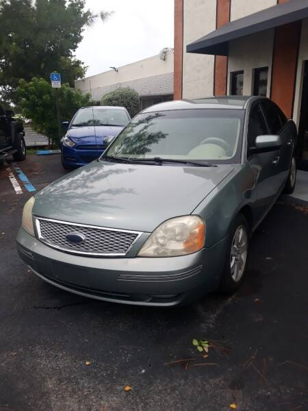 2007 Ford Five Hundred for sale at LAND & SEA BROKERS INC in Deerfield FL
