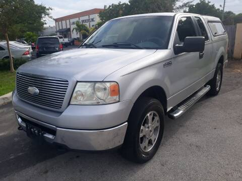 2006 Ford F-150 for sale at LAND & SEA BROKERS INC in Deerfield FL