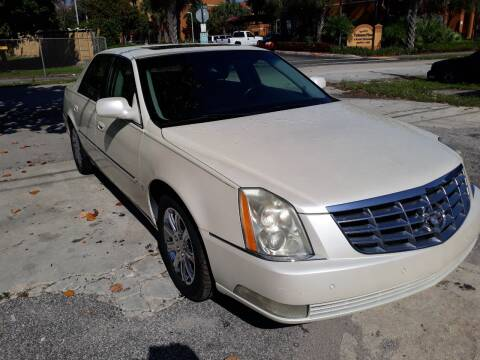 2009 Cadillac DTS for sale at LAND & SEA BROKERS INC in Deerfield FL