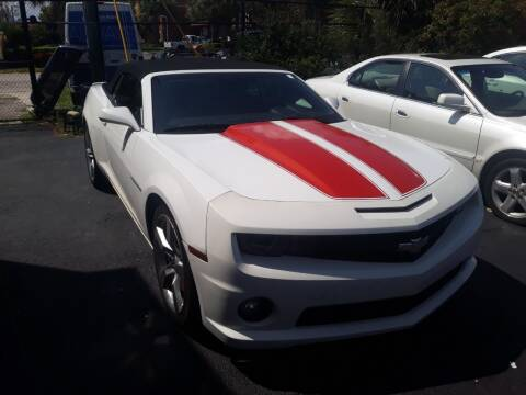 2011 Chevrolet Camaro for sale at LAND & SEA BROKERS INC in Deerfield FL