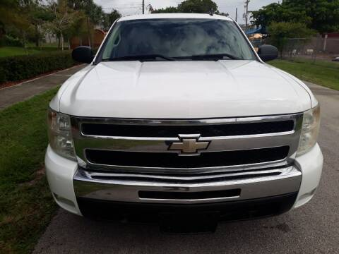 2010 Chevrolet Silverado 1500 for sale at LAND & SEA BROKERS INC in Deerfield FL
