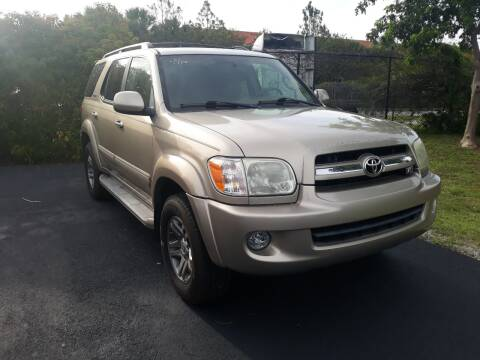 2005 Toyota Sequoia for sale at LAND & SEA BROKERS INC in Deerfield FL