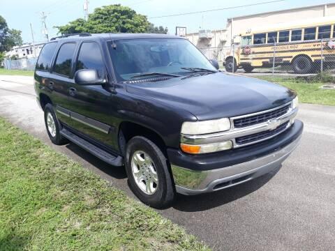 2004 Chevrolet Tahoe for sale at LAND & SEA BROKERS INC in Deerfield FL