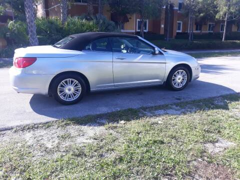 2009 Chrysler Sebring for sale at LAND & SEA BROKERS INC in Deerfield FL