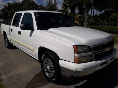2006 Chevrolet Silverado 1500 for sale at LAND & SEA BROKERS INC in Deerfield FL