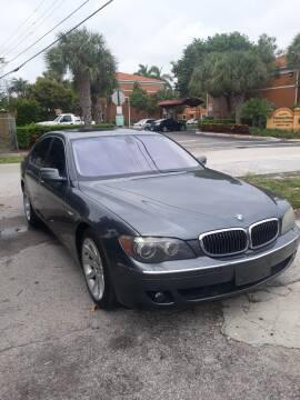 2006 BMW 7 Series for sale at LAND & SEA BROKERS INC in Deerfield FL