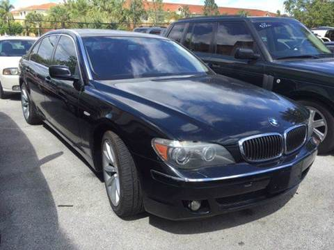 2008 BMW 7 Series for sale in Deerfield, FL