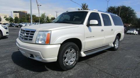 2004 Cadillac Escalade ESV for sale in Amarillo, TX