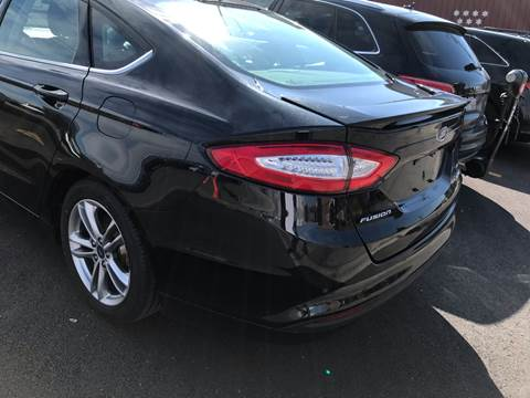 2015 Ford Fusion Hybrid for sale in Harvey, IL