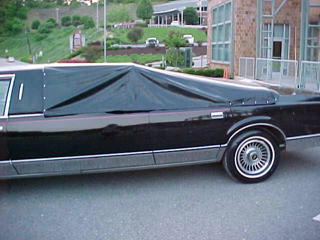 1988 Lincoln Town Car Stripper Pole Limo In Pittsburgh Pa North