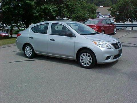 2012 Nissan Versa for sale at North Hills Auto Mall in Pittsburgh PA