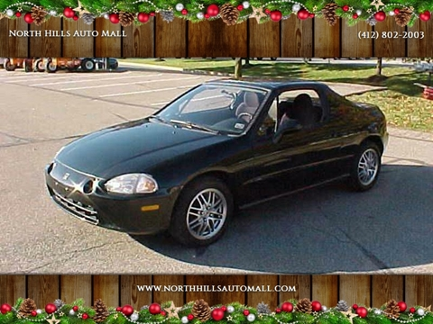 1994 Honda Civic del Sol for sale in Pittsburgh, PA