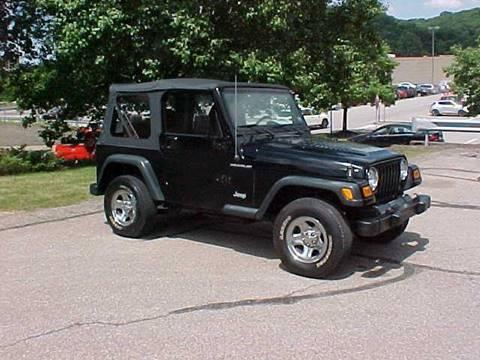 2002 jeep wrangler for sale in pennsylvania. Black Bedroom Furniture Sets. Home Design Ideas