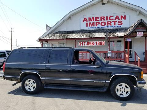 1999 GMC Suburban for sale in Indianapolis, IN