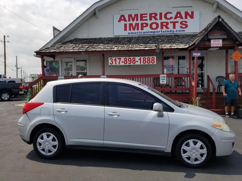 2009 Nissan Versa 18 S 4dr Hatchback 4a In Indianapolis In