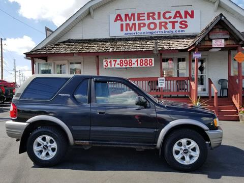 2002 Isuzu Rodeo Sport For Sale In Indianapolis, IN