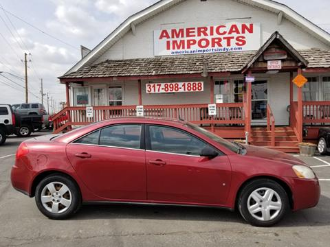 2008 Pontiac G6 for sale in Indianapolis, IN