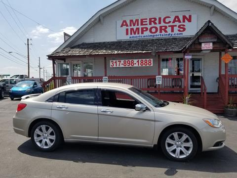 2013 Chrysler 200 for sale in Indianapolis, IN