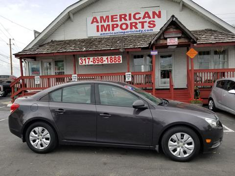 2014 Chevrolet Cruze for sale in Indianapolis, IN