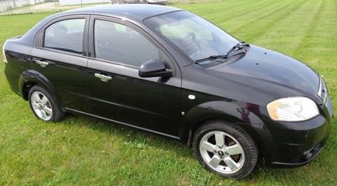2008 Chevrolet Aveo for sale at Heely's Autos in Lexington MI