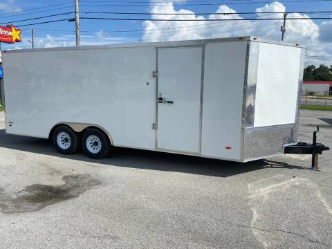 2021 Freedom 8.5 x 20 Tandem Axle Enclosed