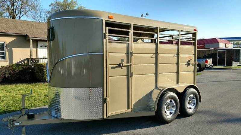 2017 Calico 2 Horse Slant 7ft Tall - Maryville TN