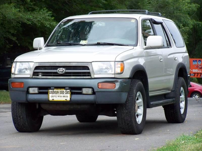 1997 Toyota 4Runner 4dr SR5 4WD SUV   Leesburg VA