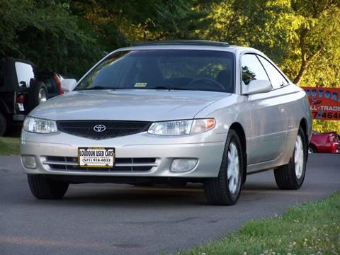 2001 Toyota Camry Solara for sale in Leesburg, VA