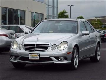 2009 Mercedes-Benz E-Class for sale at Loudoun Used Cars - LOUDOUN MOTOR CARS in Chantilly VA