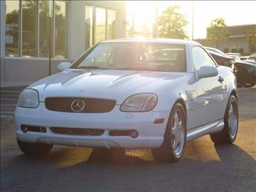 2000 Mercedes-Benz SLK for sale at Loudoun Used Cars - LOUDOUN MOTOR CARS in Chantilly VA