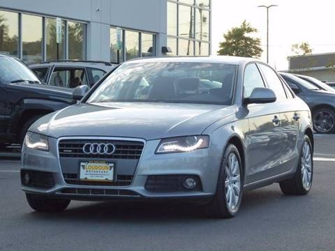 2009 Audi A4 for sale in Chantilly, VA