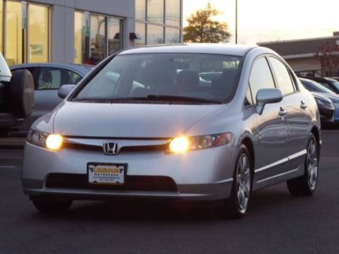 2006 Honda Civic for sale at Loudoun Used Cars - LOUDOUN MOTOR CARS in Chantilly VA