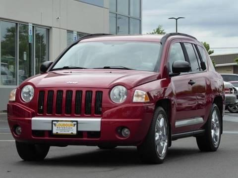 2007 Jeep Compass for sale at Loudoun Used Cars - LOUDOUN MOTOR CARS in Chantilly VA