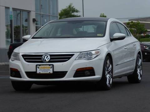 2009 Volkswagen CC for sale at Loudoun Used Cars - LOUDOUN MOTOR CARS in Chantilly VA