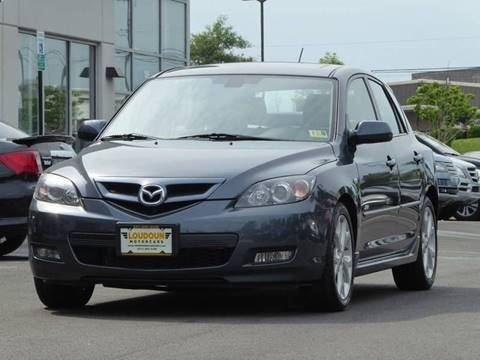 2008 Mazda MAZDA3 for sale at Loudoun Used Cars - LOUDOUN MOTOR CARS in Chantilly VA