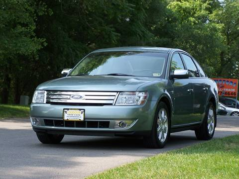 2008 Ford Taurus For Sale Carsforsale