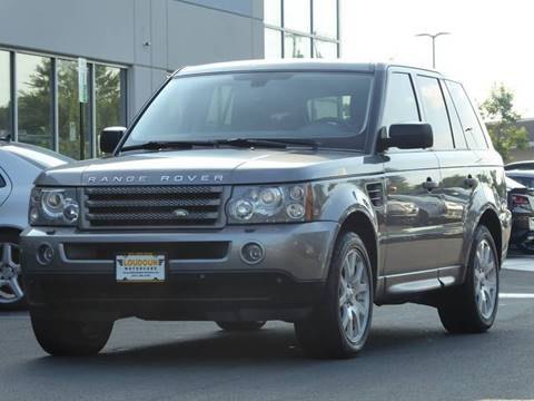 2007 Land Rover Range Rover Sport for sale at Loudoun Used Cars - LOUDOUN MOTOR CARS in Chantilly VA