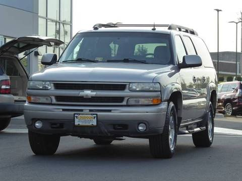2004 Chevrolet Suburban for sale at Loudoun Used Cars - LOUDOUN MOTOR CARS in Chantilly VA