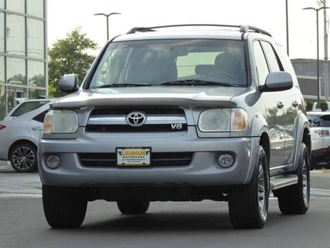 2005 Toyota Sequoia for sale at Loudoun Used Cars - LOUDOUN MOTOR CARS in Chantilly VA