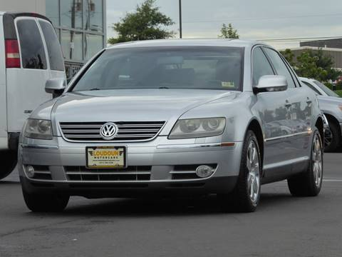 2004 Volkswagen Phaeton for sale at Loudoun Used Cars - LOUDOUN MOTOR CARS in Chantilly VA