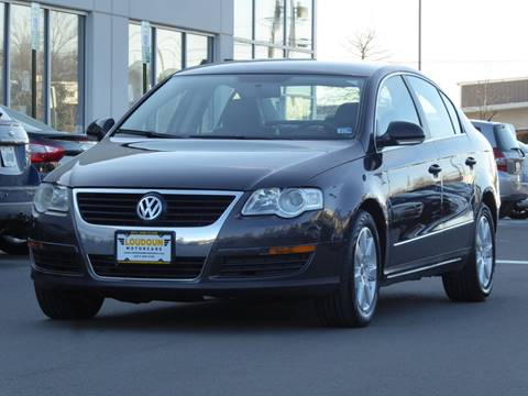2008 Volkswagen Passat for sale at Loudoun Used Cars - LOUDOUN MOTOR CARS in Chantilly VA