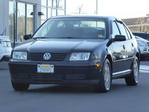 2002 Volkswagen Jetta for sale at Loudoun Used Cars in Leesburg VA