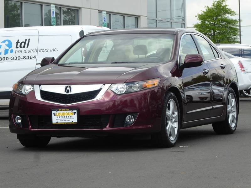 2009 Acura TSX for sale at Loudoun Used Cars - LOUDOUN MOTOR CARS in Chantilly VA