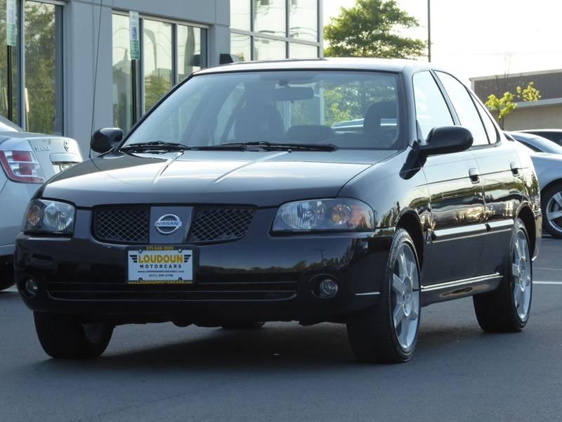 2006 Nissan Sentra Se R Spec V >> 2006 Nissan Sentra Se R Spec V 4dr Sedan In Leesburg Va