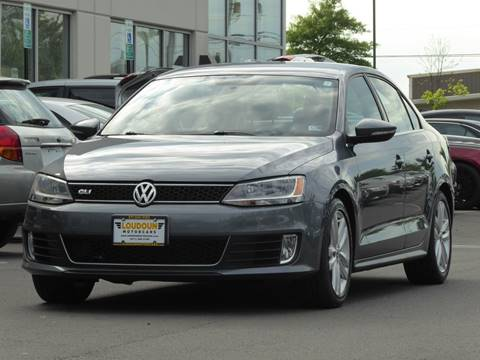 2013 Volkswagen Jetta for sale at Loudoun Used Cars - LOUDOUN MOTOR CARS in Chantilly VA