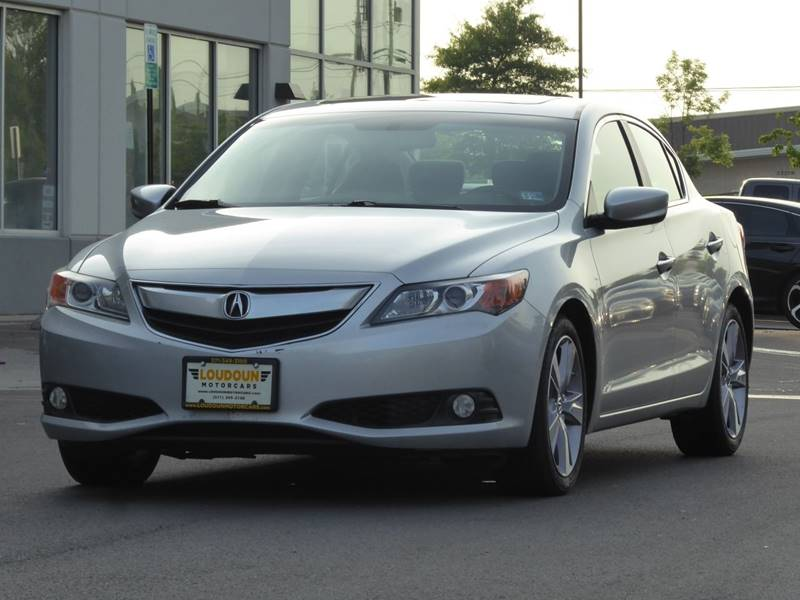 2013 Acura ILX for sale at Loudoun Used Cars - LOUDOUN MOTOR CARS in Chantilly VA